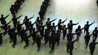 さわやかちば県民プラザで行われた柏市立柏高等学校吹奏楽部によるフロ...