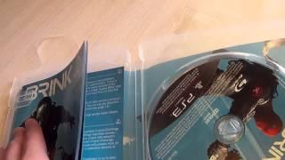 Распаковка игры Brink для PS3.