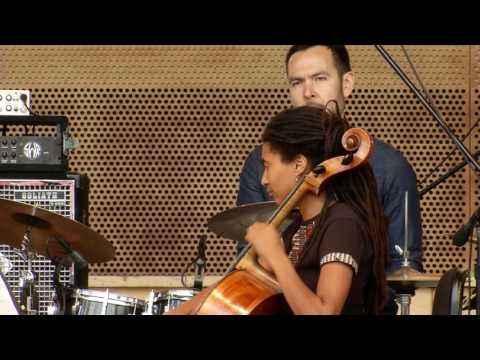 Gregory Porter and Tomeka Reid Quartet at Millennium Park (6.19.17)