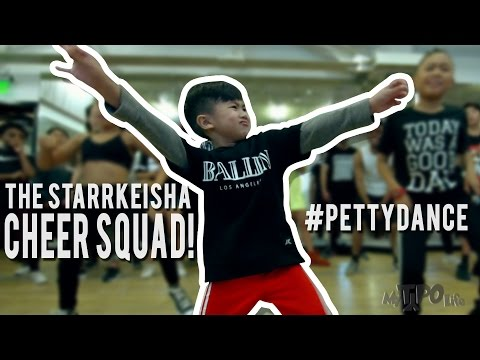 "The Starrkeisha Cheer Squad  - ""The Petty Song"" 
