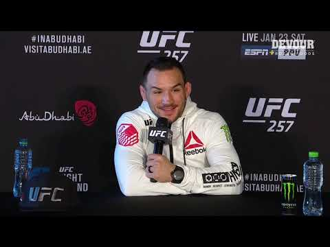 UFC 257: Michael Chandler Post-fight Press Conference