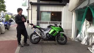 カワサキNINJA1000参考動画:鋭い走り!