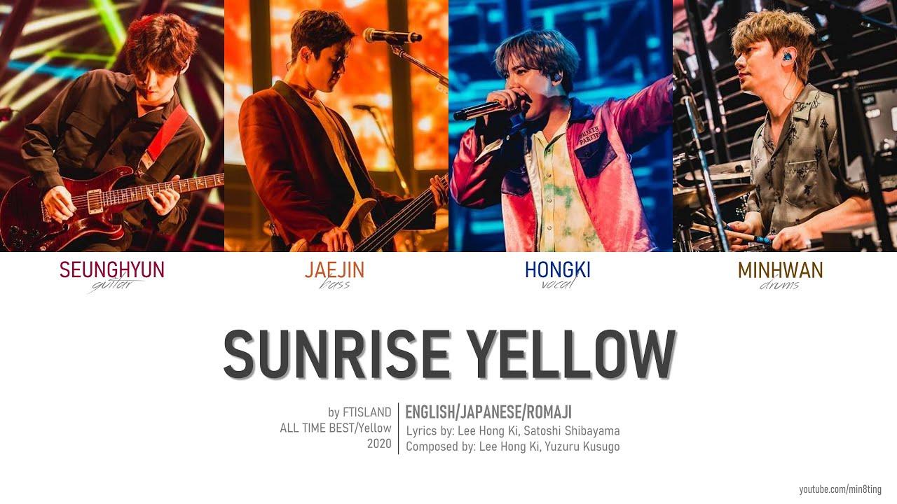 FTISLAND - 'Sunrise Yellow' Eng/Jpn/Rom (Colour Coded)