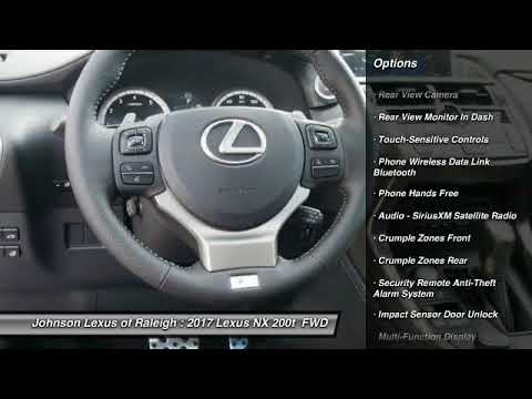 2017 Lexus NX 200t for sale in Raleigh NC - YouTube