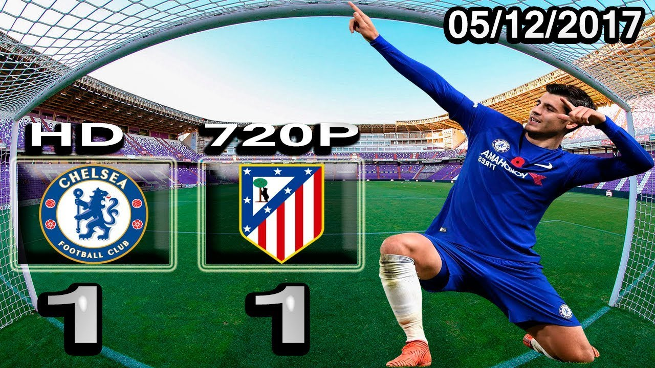 Alvaro Morata vs Atletico Madrid 1-1 - All Goals & Highlights - 05/12/2017 HD Cris Tv