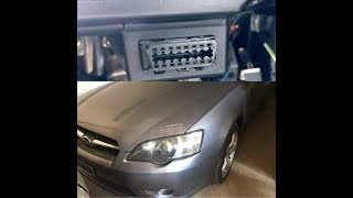 Subaru Outback Obd2 Location