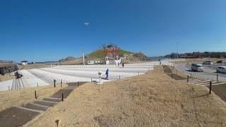蕪嶋神社 (青森県八戸市) 360度VR映像
