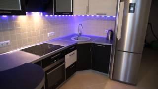 Светодиодная подсветка для кухни. Освещение на кухне(Светодиодная подсветка для кухни. Освещение на кухне Ссылка на видео: http://youtu.be/hivYrZtJ3UY Ссылка на канал:..., 2015-08-03T08:44:08.000Z)
