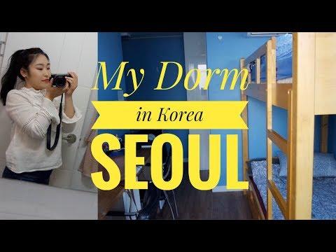 MY DORM IN KOREA, SEOUL - HUFS - sofiatintin