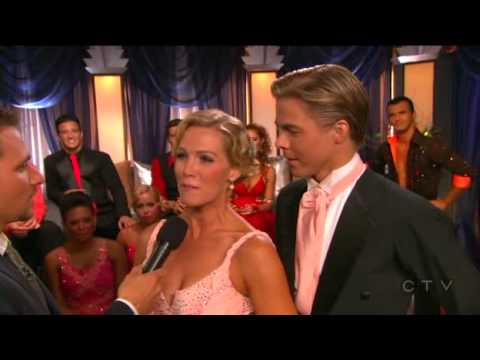 Jennie Garth and Derek Hough DWTS- Quickstep, Season 5, Week 2