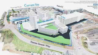 Redevelopment plans for Watford General Hospital