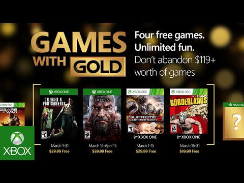 Games With Gold март 2016: Sherlock Holmes: Crimes and Punishments и Lords of the Fallen