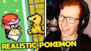 Reacting to REALISTIC Pokemon Animations