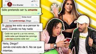 JOK to Kim Shantal with songs from Reggaeton * Very Heavy *