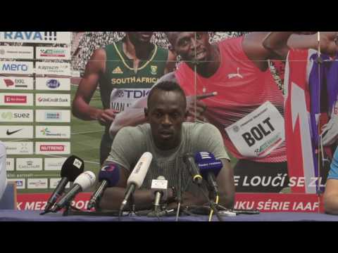 Usain Bolt's Press Conference before Ostrava Golden Spike 2017