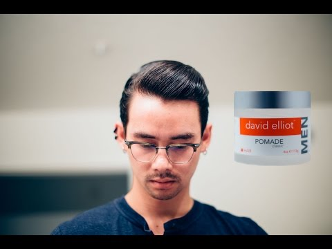 David Elliot Classic Pomade Review - Surprising Welcome Back