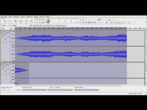 Ambient seamless loops in Audacity