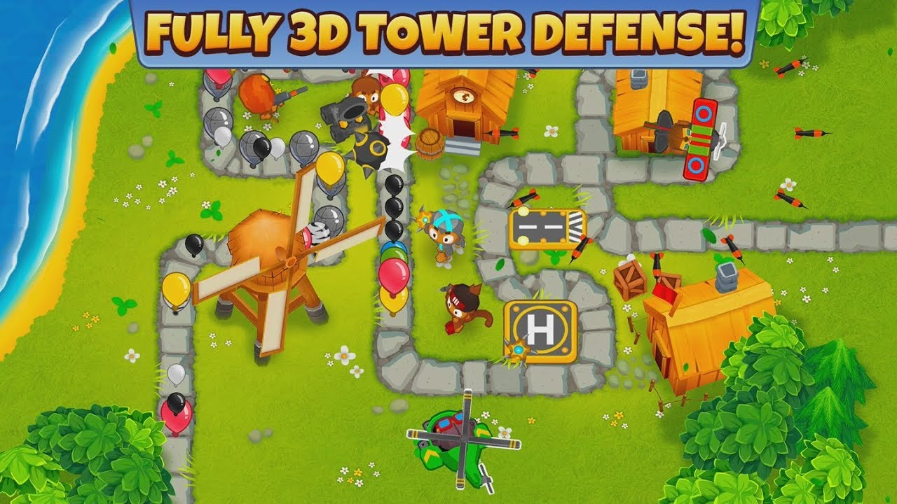 The Bloons are finally back, grab 'Bloons TD 6' off of the