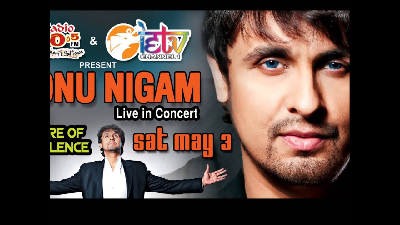 Sonu Nigam In Trinidad May 3rd 2014 Youtube