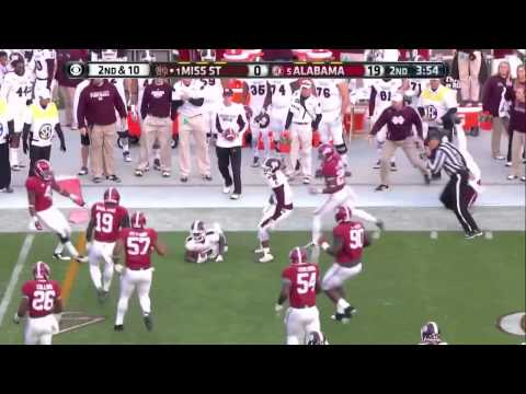 #5 Alabama vs. #1 Mississippi State 2014 (Highlights)