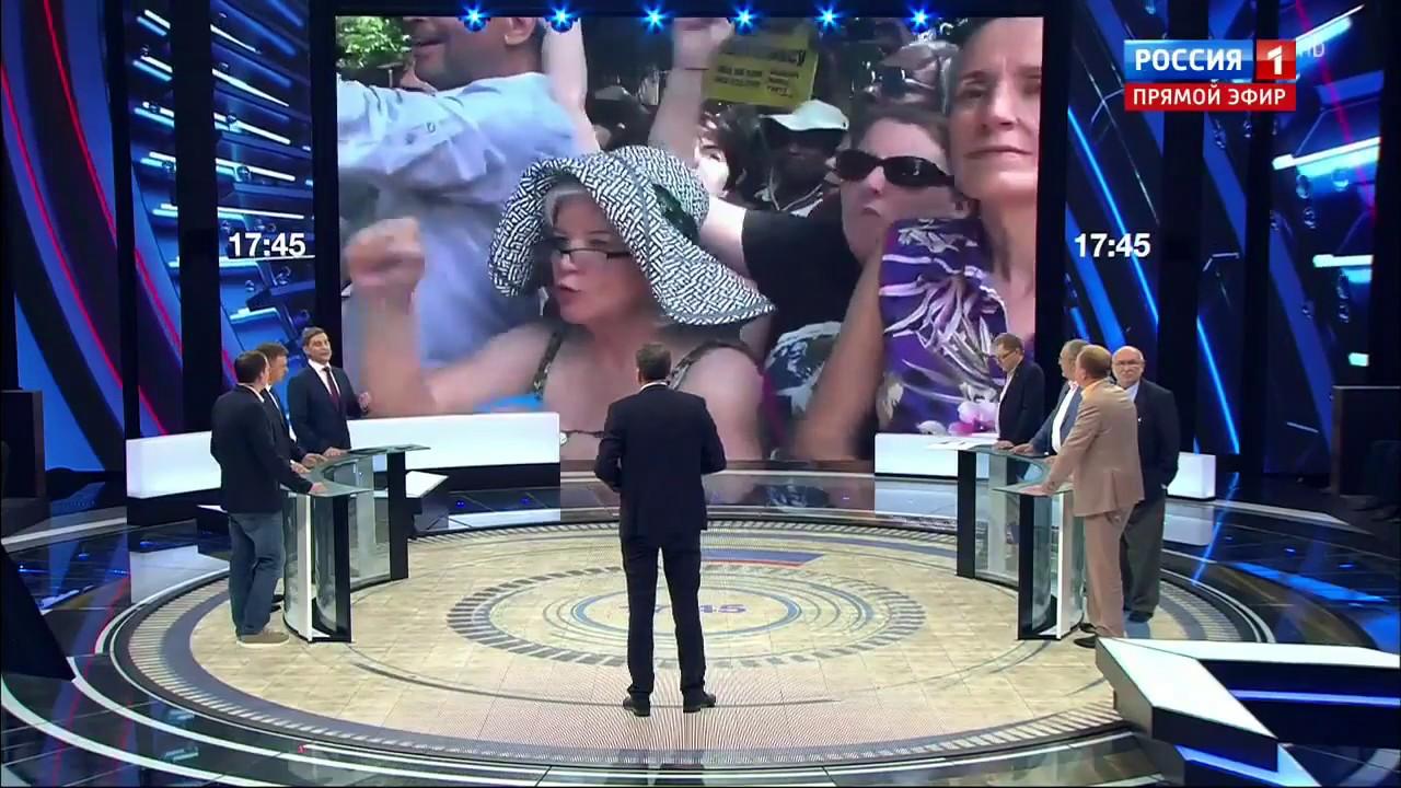 60 минут от 14.08.17. США – это Украина. Последние события в Вирджинии.