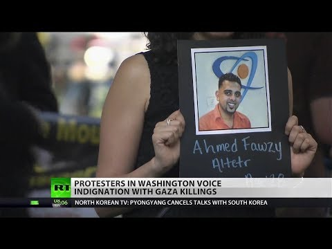 Israeli violence is 'criminal': Pro-Palestinian demonstration held in DC