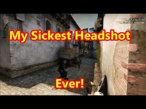 CS:GO My Sickest 180° Headshot Ever!