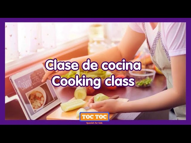 Clase de cocina para niños (bilingual) 👩🏼‍🍳: Pico de gallo 🇲🇽🍅🍋🥒⭐ - Summer Camp with Toc Toc Spanish