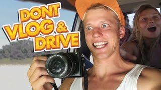 4X4 DRIVING ON FRASER ISLAND, AUSTRALIA! (2 DAY TOUR)