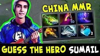 Guess the hero — Sumail China ranked mid pick