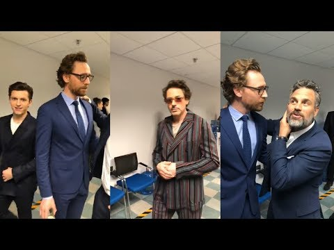 Avengers: Infinity War | Press Conference Shanghai China | Instagram LiveStream | Robert Downey Jr