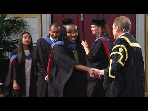 Degree Congregation 11am Friday 20 July 2018 - University of Leicester