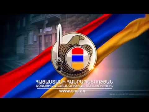 Эксклюзивные кадры КГБ Армении. Уничтожение  наступающей  колонны, танков и БМП азербаранов под Шуши