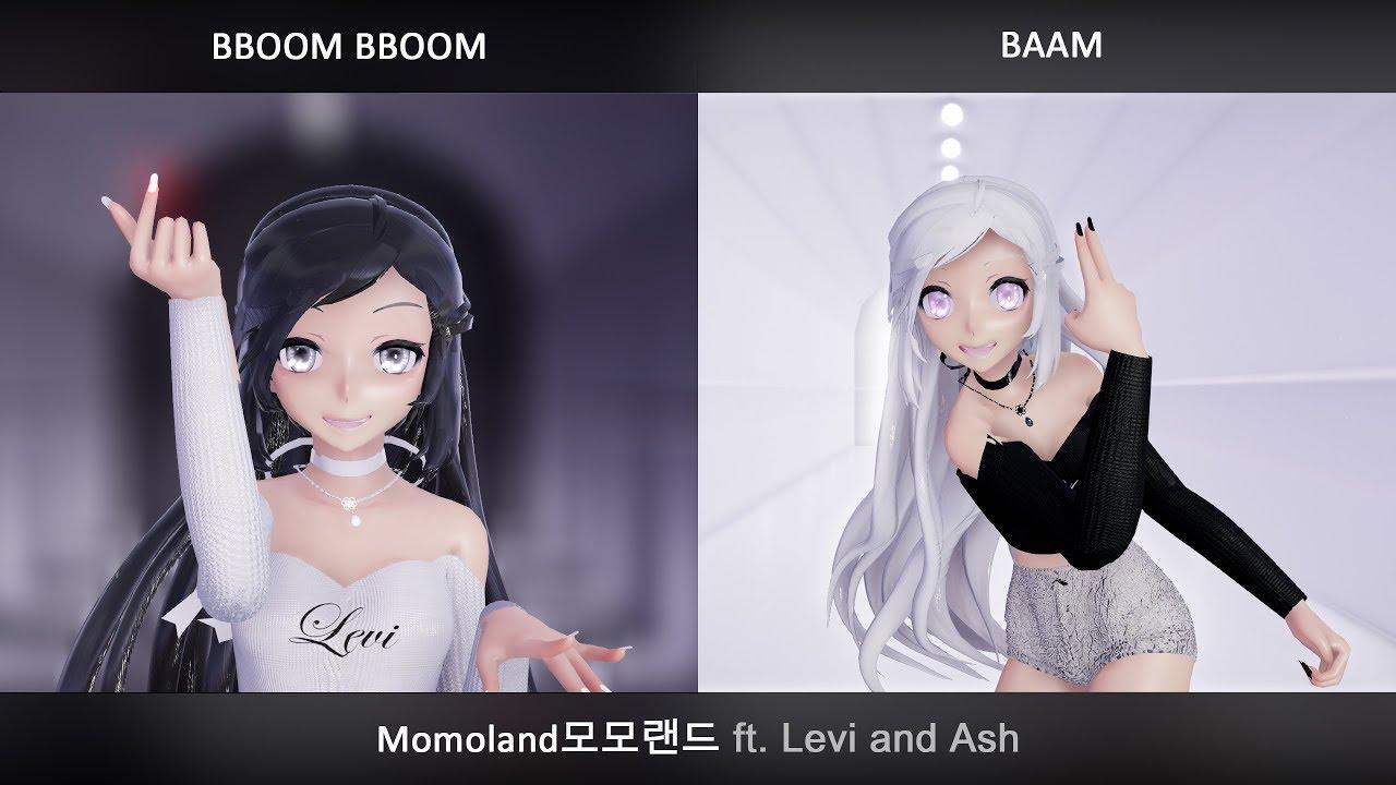 Download [kpop] Bboom Bboom + Baam (MOMOLAND모모랜드) - Levi & Ash MV cover + lyrics