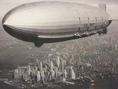 Plus léger que l'air ; la montée du zeppelin