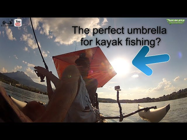 Versabrella: The perfect umbrella for your kayak?
