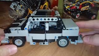 Ваз-2107 из Lego Technic