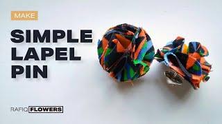 Let's Make - Siṁple Lapel Pin