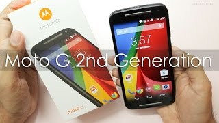 New Moto G 2nd Gen (2014 Model) Unboxing & Hands on Overview
