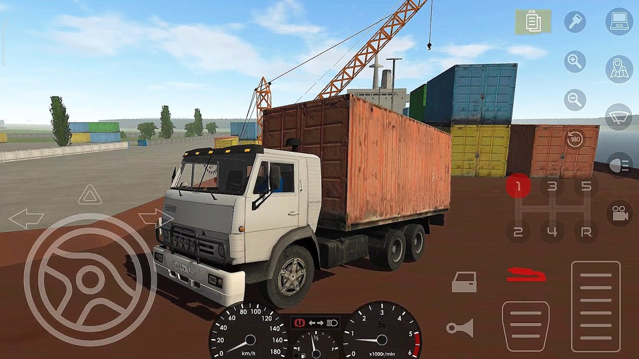 Motor Depot | Container Truck to Port