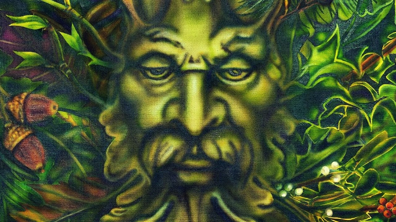 Presenting 'Green Man' by Artist Lisa Iris