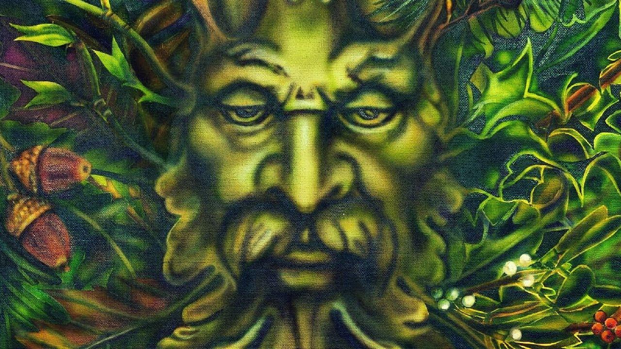 Presenting 'Green Man' by Artist Lisa Iris