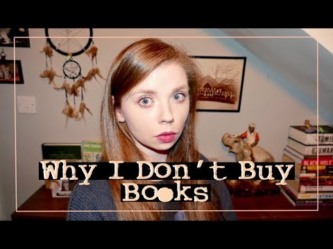 Why I Don't Buy Books Anymore