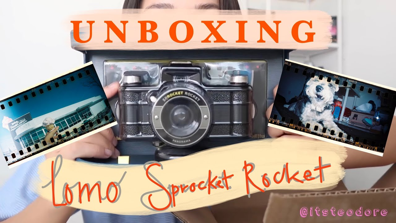Sprocket Rocket Camera : Unboxing lomography sprocket rocket youtube