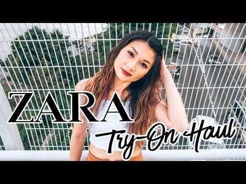 ZARA SALE 2018 - SUMMER TRY ON HAUL | Karen Lin