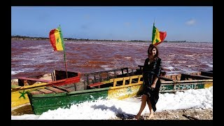 Сенегал / Розовое озеро Ретба / Пляж Попенджин / Дакар