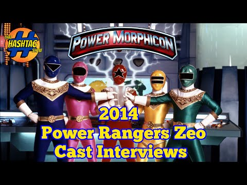 The cast of Power Rangers Zeo Interviews from Power Morphicon 2014