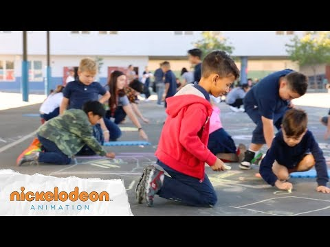 nickanimation: Chalk Day 2018  We had the MOST fun chalk drawing with the wonderful…