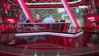 """Антон Голоцуцков и Константин Новиков в эфире программы """"Все на Матч!"""""""