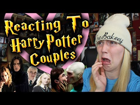 REACTING TO HARRY POTTER COUPLES/SHIPS #2